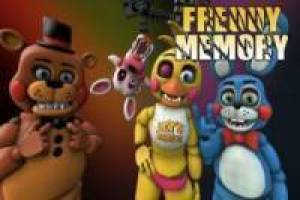 Free Freddy's Memory Game
