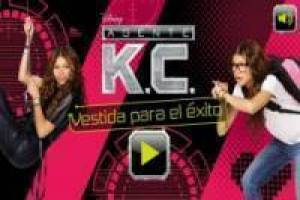 Vestir Agente KC de Disney Channel