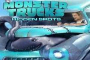 Juego Monster Trucks: Imagenes escondidas Gratis