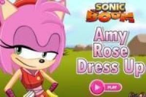 Jogo Sonic Boom: Amy Rose Dress up Livre