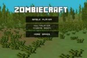 Zombiecraft.io: Zombies in the world of Minecraft