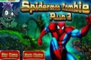 Spiderman: Huye de los zombies