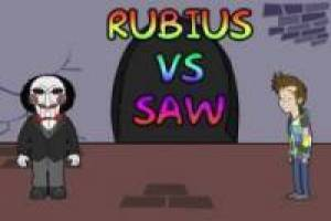 Rubius vs Saw