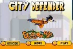 DBZ: Goku City Defender