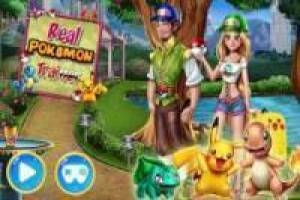 Free Hunting Pokemon by City Game