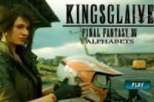 Juego Final Fantasy XV: Letras escondidas Gratis