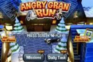 Gioco Angry Gran Run Christmas Edition Gratuito