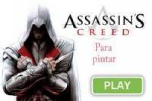 Juego Assassins Creed para pintar Gratis