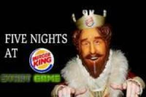 Juego FNAF: Five Nights at Burger King para jugar gratis online