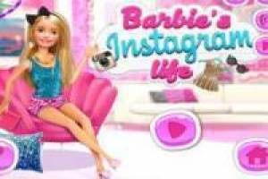 Barbie dans l'instagram