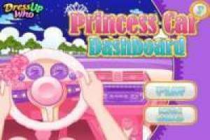 Free Driving princess cars Game
