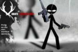 Stickman: Shooting yard