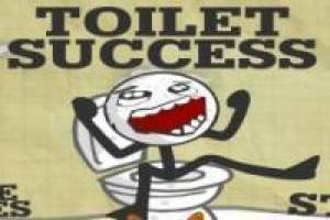 Toilet Success: I need a bath