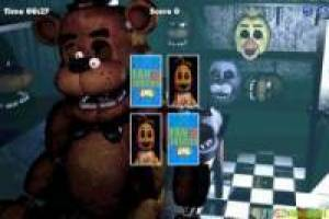 Five letters Nights at Freddy's