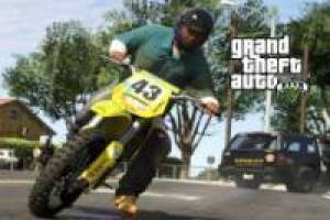 Free Driving bikes GTA-style Game