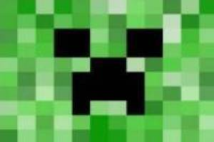 Rompecabezas: Creeper de Minecraft