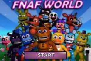 Free FNAF World game Game