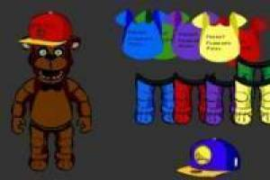 Dress up Freddy from FNAF
