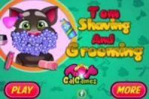 Afeitar a Talking Tom