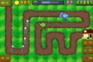 Juego Plant vs zombies tower defense Gratis