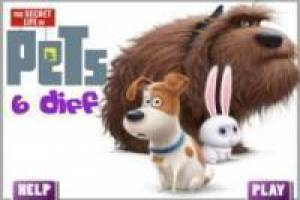 Juego Secret life of pets: 6 Errores Gratis