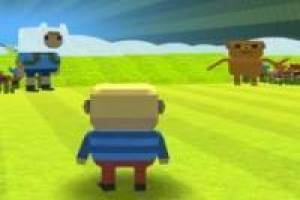 Free Roblox Kogama in the world of Finn and Jake Game