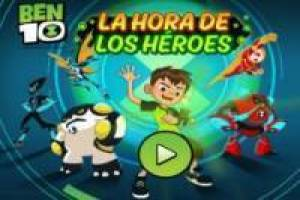 Gratis Ben 10: Time of Heroes Spille