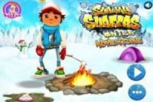 Subway Surfer: Aventura de Invierno