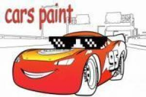Gioco Cars 3 paint Gratuito