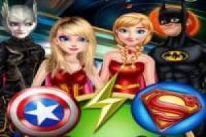 Free Princess style Marvel or DC Game