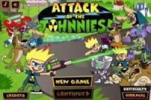 Johnny Test Clone Attacks
