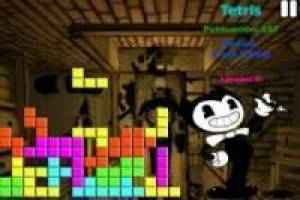 Jogo Bendy and the Ink Machine: Tetris Livre