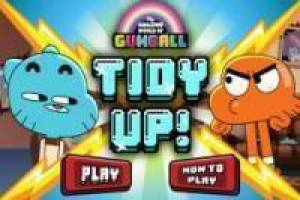 Free Gumball cleaning Game