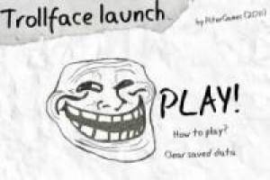 Free Trollface launch Game