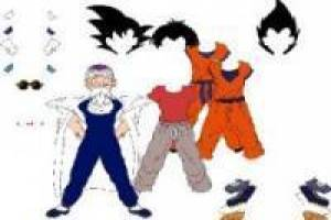 Dragon Ball: Vestir a Krilin