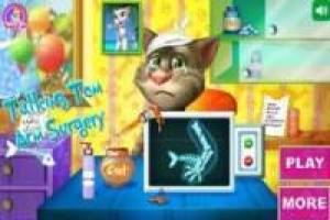 Talking Tom: Brazo roto