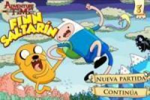 Adventure Time: Finn Saltarín