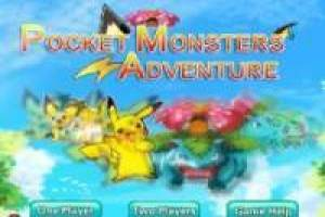 Juego Pokémon: Pocket Monsters Adventure para jugar gratis online