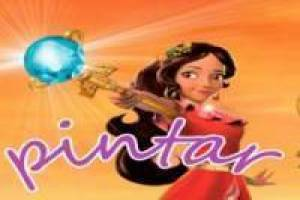 Elena of Avalor paint