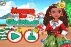 Dress up Christmas Moana