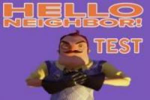 Hello Neighnor Test