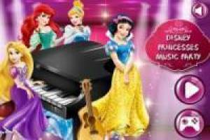 Musical Disney Princess Party
