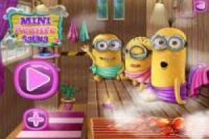 Minions: Relaxation in the sauna