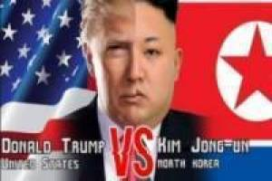 Kim Jong vs Donald Trump