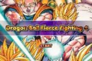 Juego Dragon Ball Fierce Fighting 4 para jugar gratis online