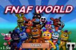 Free FNAF World Jumpscares Game