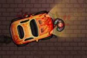 Atropellar zombies con carro
