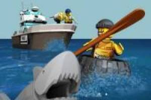 Free Lego: Pursuit by boat Game