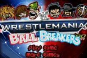 Juego Wrestlemania Ball Breakers Gratis