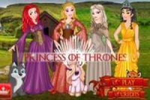 Disney Prinsessen: Game of Thrones